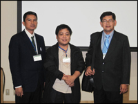 Mr. Rudy C. Flores, Mr. Reynan P. Calderon, and Engr. Adrian Singian of DHVTSU attend the 5th International Symposium on Machinery and Mechatronics for Agricultural and Biosystems Engineering (ISMAB) to present papers and to benchmark for effective strategies in agriculture.