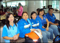 The BPSU Human Resource Management Practitioners: Betty, Leng, Letlet, Ruby and Nanding